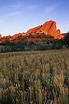 Morning light on South Gateway Rock, Garden of the Gods Park, Colorado Springs, Colorado