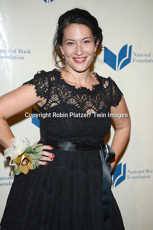 Ada Limon attends the 2013 National Book Awards Dinner and Ceremony on November 20, 2013 at Cipriani Wall Street in New York City.