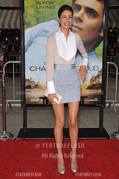 """Amanda Crew at the world premiere of her new movie """"Charlie St. Cloud"""" at the Mann Village Theatre, Westwood..July 20, 2010  Los Angeles, CA.Picture: Paul Smith / Featureflash"""