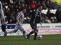 Rocco Quinn in the St Mirren v Ross County Clydesdale Bank Scottish Premier League match played at St Mirren Park, Paisley on 19.1.13.