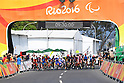 Start, <br /> SEPTEMBER 17, 2016 - Cycling - Road : <br /> Women's Road Race C4-5 <br /> at Pontal <br /> during the Rio 2016 Paralympic Games in Rio de Janeiro, Brazil.<br /> (Photo by AFLO SPORT)