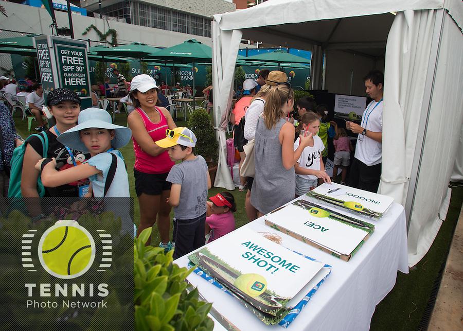 Ambiance tennis grand slam brisbane international for Ambiance australia