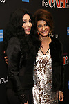 """Cher and Nia Vardalos attends the Broadway Opening Night Performance of """"The Cher Show""""  at the Neil Simon Theatre on December 3, 2018 in New York City."""