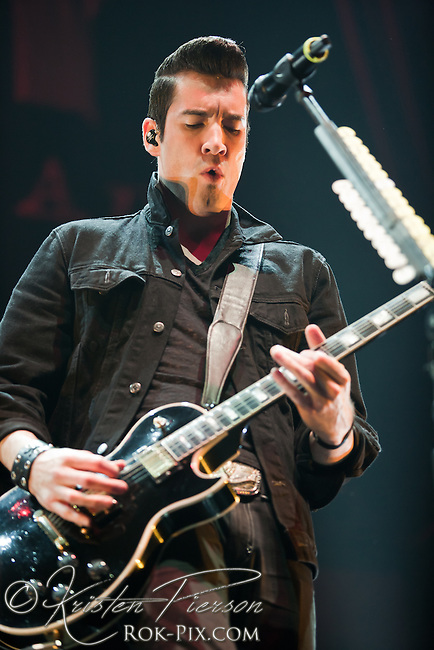 Theory of a Deadman performing on the Avalanche Tour on May 1 at Mohegan Sun Arena in CT.