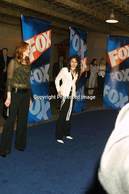 ©2003 KATHY HUTCHINS / HUTCHINS PHOTO.FOX TV UPFRONTS - FALL 2003 SEASON.NEW YORK CITY, NY.MAY 15, 2003..MILA KUNIS.