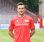06.07.2019, Stadion an der Wuhlheide, Berlin, GER, 2.FBL, 1.FC UNION BERLIN , Mannschaftsfoto, Portraits, <br /> DFL  regulations prohibit any use of photographs as image sequences and/or quasi-video<br /> im Bild Christian Gentner (1.FC Union Berlin #62), <br /> <br /> <br />      <br /> Foto © nordphoto / Engler