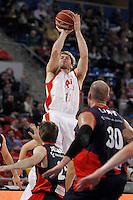 CAI Zaragoza's Jon Stefansson during Spanish Basketball King's Cup match.February 07,2013. (ALTERPHOTOS/Acero)