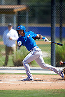 Toronto Blue Jays Yeltsin Gudino (51) during a minor league Spring Training game against the New York Yankees on March 22, 2016 at Englebert Complex in Dunedin, Florida.  (Mike Janes/Four Seam Images)