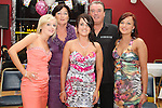 Ruth Myles with her parents Marie and Neal and her sisters Sarah and Aisling at her 21st in The Thatch...Photo NEWSFILE/Jenny Matthews.(Photo credit should read Jenny Matthews/NEWSFILE)....This Picture has been sent you under the condtions enclosed by:.Newsfile Ltd..The Studio,.Millmount Abbey,.Drogheda,.Co Meath..Ireland..Tel: +353(0)41-9871240.Fax: +353(0)41-9871260.GSM: +353(0)86-2500958.email: pictures@newsfile.ie.www.newsfile.ie.FTP: 193.120.102.198.