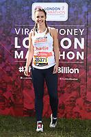 Charlie Webster<br /> at the start of the London Marathon 2019, Greenwich, London<br /> <br /> ©Ash Knotek  D3496  28/04/2019