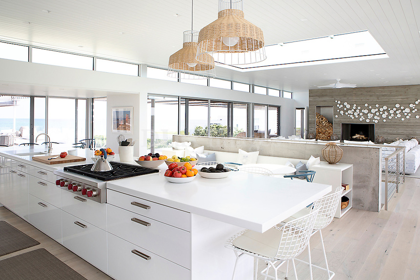Contemporary open plan kitchen