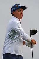 Rickie Fowler (USA) watches his tee shot on 11 during day 1 of the Valero Texas Open, at the TPC San Antonio Oaks Course, San Antonio, Texas, USA. 4/4/2019.<br /> Picture: Golffile | Ken Murray<br /> <br /> <br /> All photo usage must carry mandatory copyright credit (© Golffile | Ken Murray)