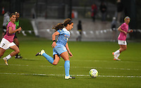 Kansas City, MO - Friday May 13, 2016: Chicago Red Stars midfielder Danielle Colaprico (24) against FC Kansas City during a regular season National Women's Soccer League (NWSL) match at Swope Soccer Village. The match ended 0-0.