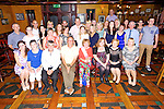 Surprise 60th birthday for Geraldine Conlon, Abbeydorney here celebrating with family and friends at the Meadowlands Hotel on Saturday