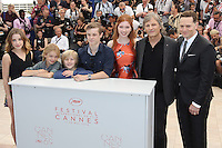 Samantha ISLER - Shree CROOKS - Charlie SHOTWELL - Nicholas HAMILTON - Annalise BASSO - Viggo MORTENSEN - Matt ROSS - 69E FESTIVAL DE CANNES 2016 - PHOTOCALL DU FILM 'CAPTAIN FANTASTIC'