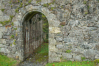 Old Gate and Stone Wall, Scotland