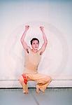 Si c'est un n&egrave;gre / Autoportrait<br /> <br /> Chor&eacute;graphie : Faustin Linyekula<br /> Danse : Sylvain Prunenec<br /> au studio CND<br /> le 28/01/2004<br /> &copy; Laurent Paillier / photosdedanse.com<br /> All rights reserved