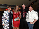 Rachel Howell celebrating her 21st birthday in The Venue at McHugh's with boyfriend Padraic Smith and his parents Patrick and Theresa. Photo:Colin Bell/pressphotos.ie