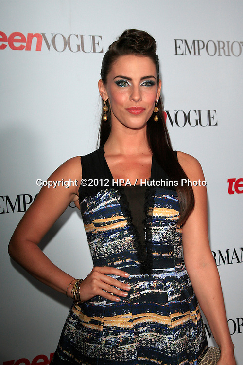 LOS ANGELES - SEP 27:  Jessica Lowndes at the Teen Vogue's 10th Annual Young Hollywood Party at Private Location on September 27, 2012 in Beverly Hills, CA