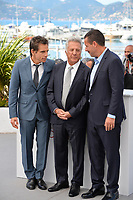 Ben Stiller, Dustin Hoffman &amp; Adam Sandler at the photocall for &quot;The Meyerowitz Stories&quot; at the 70th Festival de Cannes, Cannes, France. 21 May 2017<br /> Picture: Paul Smith/Featureflash/SilverHub 0208 004 5359 sales@silverhubmedia.com