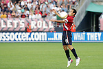 28 May 2006: U.S. midfielder Landon Donovan. The United States Men's National Team defeated Latvia 1-0 at Rentschler Field in East Hartfort, Connecticut in an international friendly soccer match.