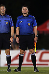04 September 2015: Assistant Referee Matthew Englebert. The North Carolina State University Wolfpack hosted the Oregon University Ducks at Dail Soccer Field in Raleigh, NC in a 2015 NCAA Division I Women's Soccer game. NC State won the game 2-0.
