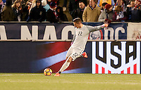 Chattanooga, TN - February 3, 2017: The U.S. Men's National team defeat Jamaica 1-0 in an international friendly match at Finley Stadium.