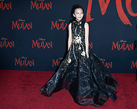 """LOS ANGELES - MAR 9:  Delphine Huang at the """"Mulan"""" Premiere at the Dolby Theater on March 9, 2020 in Los Angeles, CA"""