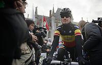 Ronde van Vlaanderen 2013..Tom Boonen (BEL) at the start