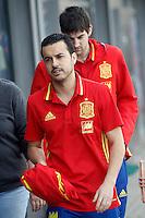 SPANISH NATIONAL FOOTBALL TEAM STAGE.