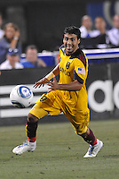 Javier Morales...Kansas City Wizards and Real Salt Lake played to a 1-1 tie at Community America Ballpark, Kansas City, Kansas.