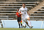 31 August 2008: Wake Forest's Sam Cronin. The Wake Forest University Demon Deacons defeated the Florida International University Panthers 3-0 at Fetzer Field in Chapel Hill, North Carolina in an NCAA Division I Men's college soccer game.