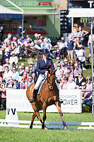 GBR-Zara Phillips (HIGH KINGDOM) INTERIM-=5TH: CIC3* DRESSAGE: 2014 GBR-Equitrek Bramham International Horse Trial (Friday 6 June) CREDIT: Libby Law COPYRIGHT: LIBBY LAW PHOTOGRAPHY - NZL