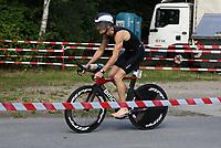Thomas Kröll (Tria Rüsselsheim) auf der Radstrecke - Mörfelden-Walldorf 21.07.2019: 11. MoeWathlon