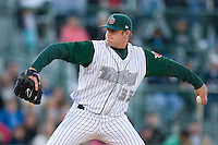 Starting pitcher Nick Schmidt #33 of the Fort Wayne Tin Caps in action versus the Dayton Dragons at Parkview Field April 16, 2009 in Fort Wayne, Indiana. (Photo by Brian Westerholt / Four Seam Images)