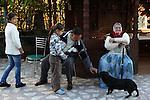 Romania, Tirgu Jiu - The family of Ninel Potirca, one of the wealthiest ROMa people in Romania.