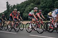 Italian champion Fabio Aru (ITA/Astana) in the bunch<br /> <br /> 104th Tour de France 2017<br /> Stage 10 - Périgueux › Bergerac (178km)
