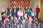 MEAL: The Parents of Abigail Egan Causeway Louise and Roy Egan Causeway, treated their family and friends to a meal at Ballyroe Heights Hotel, Tralee on Sunday after Abigail  christening in St John's Church, Causeway...