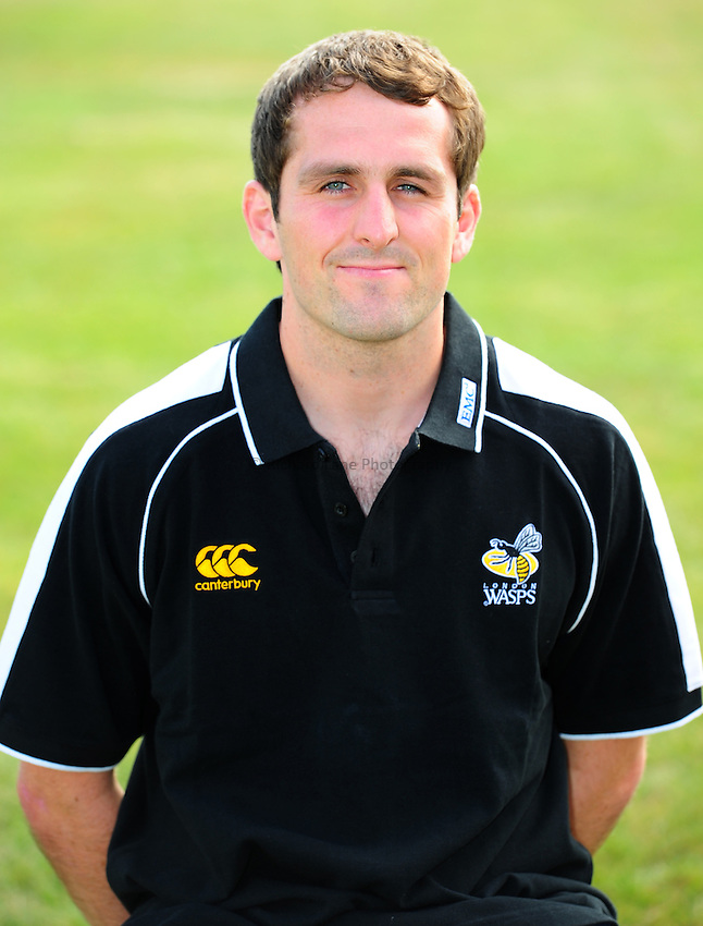 Photo: Richard Lane/Richard Lane Photography. London Wasps head shots. 19/07/2010.