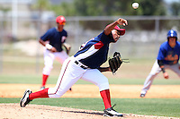 GCL Nationals Inocencio Heredia #39 during a game against the GCL Mets at the Washington Nationals Minor League Complex on June 20, 2011 in Melbourne, Florida.  The Nationals defeated the Mets 5-3.  (Mike Janes/Four Seam Images)