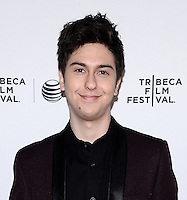 NEW YORK, NY - APRIL 24, 2014:Actor Nat Wolff attend the screening Premiere of  Palo Alto during the 2014 Tribeca Film Festival at SVA Theater on April 24, 2014 in New York City  © HP/Starlitepics /NortePhoto