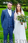 Brosnan/O'Chonchuir wedding in the Ballyseede Castle Hotel on Friday October 25th.