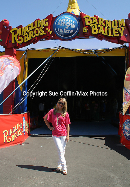 - One Life To Live's Kristen Alderson was guest host and signed autographs at The Coney Island Illuscination presented by Ringling Bros. and Barnum & Bailey - The Greatest Show on Earth on August 28, 2010 at Coney Island Boardwalk, New York. (Photo by Sue Coflin/Max Photos)