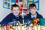 Farm Safety was the topic for Liam O'Brien and Michael O'Donoghue at the St Brendans College science fair on Friday