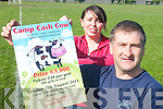 MOOOOH: Organisers of the Camp Cash Cow fundraiser on Sunday, August 7th, Mairead Crean and Martin Quirke.