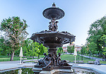 The Brewer Fountain on Boston Common, Boston, Massachusetts, USA
