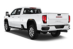 Car pictures of rear three quarter view of 2020 GMC Sierra-3500HD Denali 4 Door Pick-up Angular Rear
