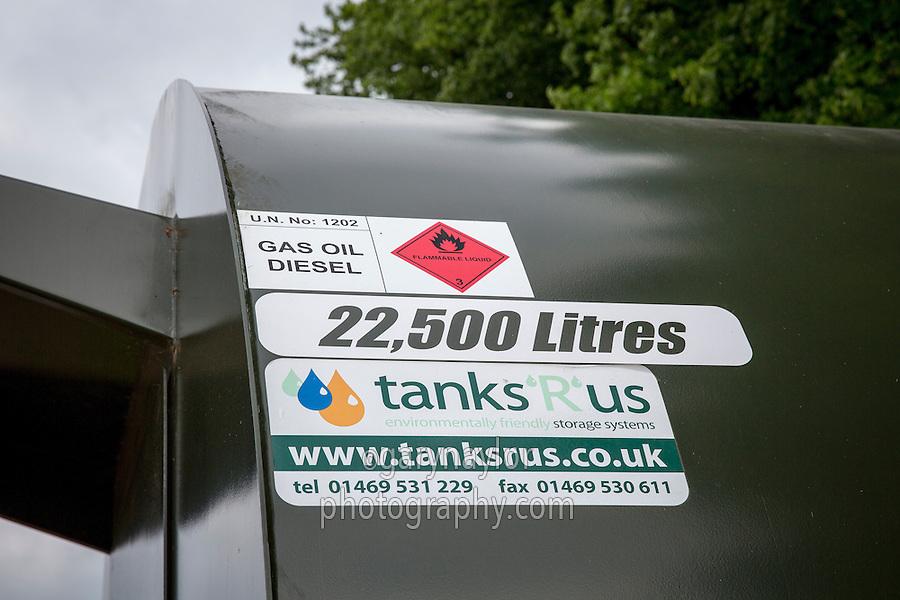 Bunded & secure farm fuel tanks - Lincolnshire