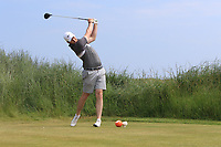 John Hickey (Cork) on the 3rd tee during Round 4 of the East of Ireland Amateur Open Championship 2018 at Co. Louth Golf Club, Baltray, Co. Louth on Monday 4th June 2018.<br /> Picture:  Thos Caffrey / Golffile<br /> <br /> All photo usage must carry mandatory copyright credit (&copy; Golffile | Thos Caffrey)