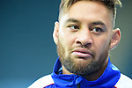 ENG - Newcastle upon Tyne, England, October 08: During the Captains Run of Samoa on October 8, 2015 at St. James Park in Newcastle upon Tyne, England. (Photo by Dirk Markgraf / www.265-images.com) *** Local caption *** Jack Lam of Samoa